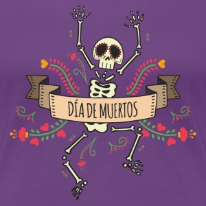 Day of the Dead Skeleton T-Shirts - Women's Premium T-Shirt