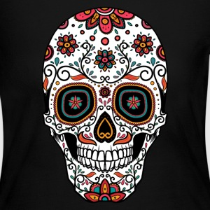Sugar Skull - Day of the Long Sleeve Shirts - Women's Long Sleeve Jersey T-Shirt