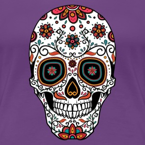 Sugar Skull - Day of the T-Shirts - Women's Premium T-Shirt