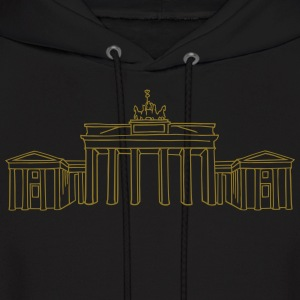 Brandenburg Gate in Berlin - Men's Hoodie