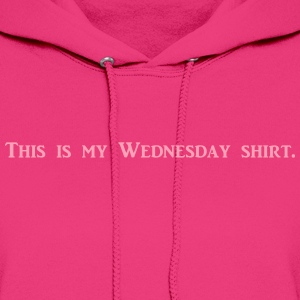 Wednesday Shirt Hoodies - Women's Hoodie