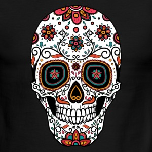 Sugar Skull - Day of the T-Shirts - Men's Ringer T-Shirt