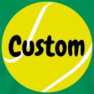 Custom Tennis Ball T-shirt - Men's Premium T-Shirt