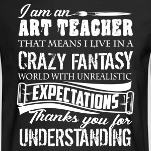 Art Teacher Shirts - Men's Long Sleeve T-Shirt