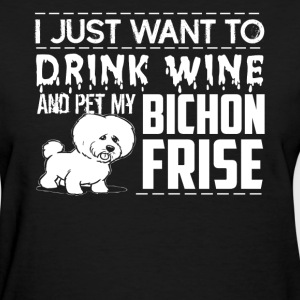 Pet My Bichon Frise Shirt - Women's T-Shirt