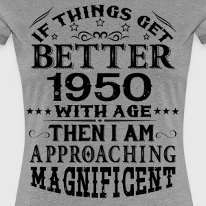 IF THINGS GET BETTER WITH AGE-1950 T-Shirts - Women's Premium T-Shirt