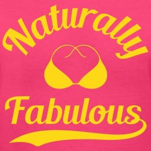 Natural Fabulous (Shirt) - Women's V-Neck T-Shirt
