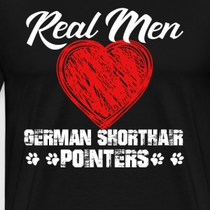 Love German Shorthaired Pointer - Men's Premium T-Shirt
