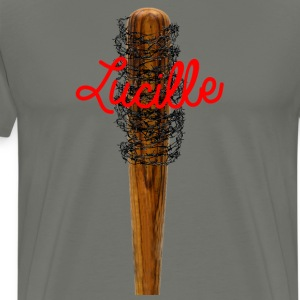 Lucille barb wire bat T-Shirts - Men's Premium T-Shirt