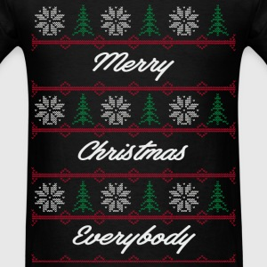 xmas sweater pattern 4 T-Shirts - Men's T-Shirt