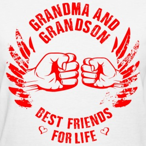 Grandma and Grandson T-Shirts - Women's T-Shirt