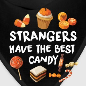 STRANGERS HAVE THE BEST CANDY - HALLOWEEN SHIRT! Caps - Bandana