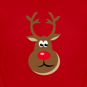 Christmas Deer Baby Bodysuits - Short Sleeve Baby Bodysuit