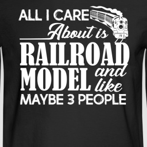 Railroad Model Shirts - Men's Long Sleeve T-Shirt