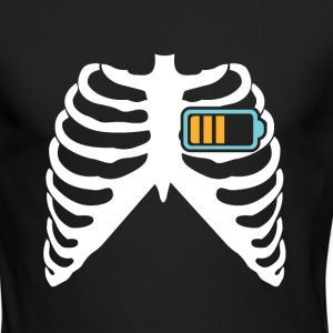 MY HEART BEATS FOR MY CELL PHONE!  Long Sleeve Shirts - Men's Long Sleeve T-Shirt by Next Level