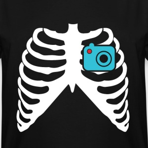 MY HEART BEATS FOR PHOTOGRAPHY! I LOVE PHOTOGRAPHY! T-Shirts - Men's Tall T-Shirt
