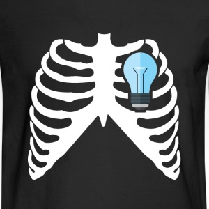 ELECTRICIAN - MY HEART BEATS FOR ELECTRICITY! Long Sleeve Shirts - Men's Long Sleeve T-Shirt