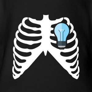 ELECTRICIAN - MY HEART BEATS FOR ELECTRICITY! Baby Bodysuits - Short Sleeve Baby Bodysuit
