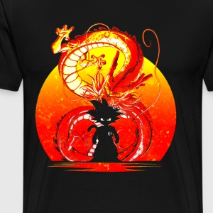 goku inside - Men's Premium T-Shirt