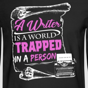 Writer Tshirt - Men's Long Sleeve T-Shirt
