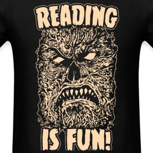 Reading Is Fun Necronomicon - Men's T-Shirt