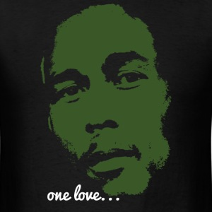 Bob Marley - One Love - Men's T-Shirt