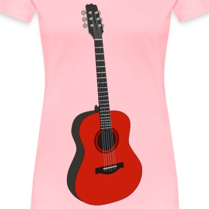 guitar 1 - Women's Premium T-Shirt