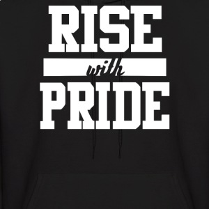 Rise With Pride - Men's Hoodie
