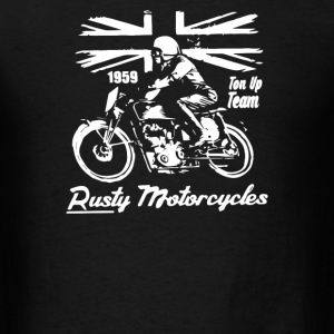 rusty motorcycles - Men's T-Shirt