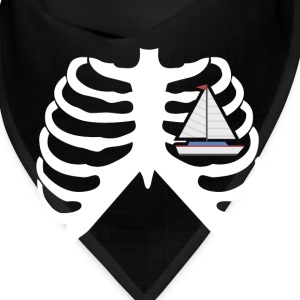 MY HEART BEATS FOR SAILING - I LOVE SALING! Caps - Bandana
