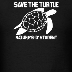 Save The Turtle - Men's T-Shirt