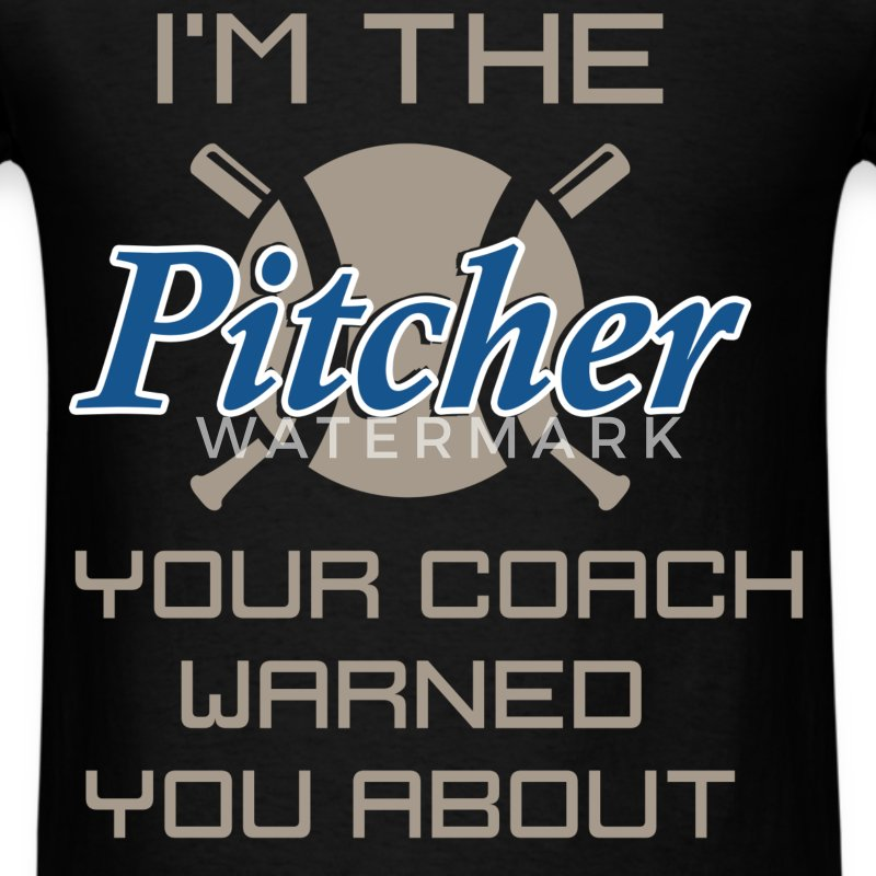 I'm the girl your coach warned you about - Men's T-Shirt