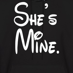 shes mine - Men's Hoodie
