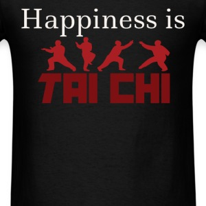 Happiness is Tai chi - Men's T-Shirt