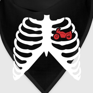 MY HEART BEATS FOR BIKES - I LOVE MOTORCYCLES Caps - Bandana