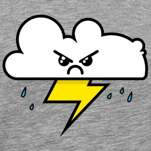 Unhappy Cloud - Men's Premium T-Shirt