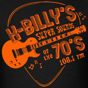 K-Billy's Super Sounds Of The 70's - Men's T-Shirt