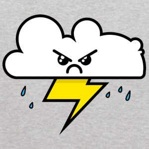Unhappy Cloud - Kids' Hoodie