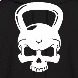 Skull Kettlebell Cross Fit - Men's Hoodie