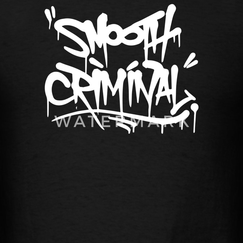 Smooth Criminal - Men's T-Shirt