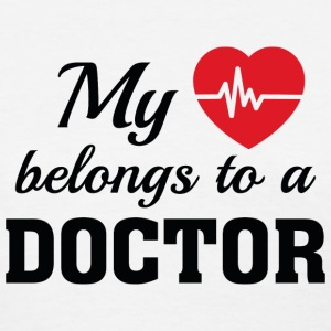 Heart Belongs Doctor - Women's T-Shirt