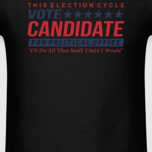 Vote Candidate - Men's T-Shirt