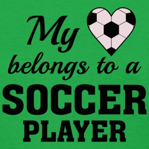 Heart Belongs Soccer - Women's T-Shirt