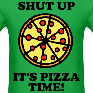Pizza Time! T-Shirts - Men's T-Shirt