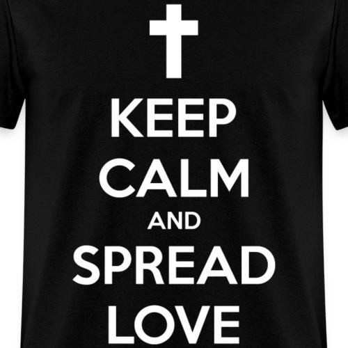 Keep Calm and Spread Love