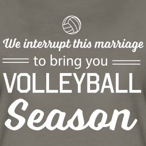 We interrupt this marriage to bring you volleyball T-Shirts - Women's Premium T-Shirt