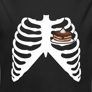 MY HEART BEATS FOR CAKE! I LOVE CAKE! Baby Bodysuits - Long Sleeve Baby Bodysuit