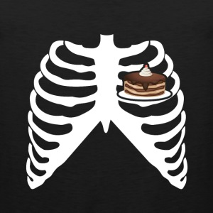 MY HEART BEATS FOR CAKE! I LOVE CAKE! Sportswear - Men's Premium Tank