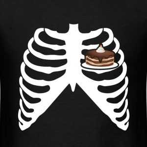MY HEART BEATS FOR CAKE! I LOVE CAKE! T-Shirts - Men's T-Shirt
