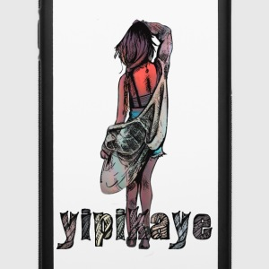 yipikaye girl - iPhone 6/6s Rubber Case